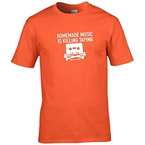 S Tees Herren T-Shirt Gr. M, Orange
