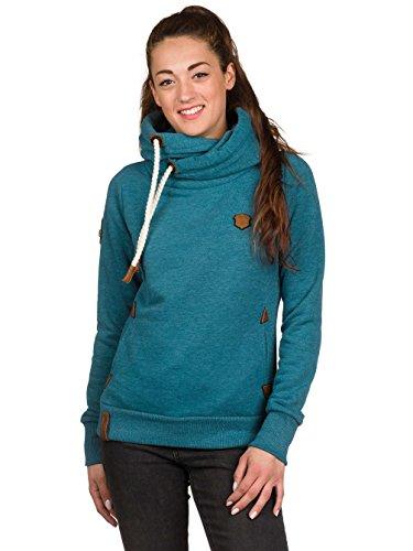 Naketano Damen Sweatshirt deep blue green melange