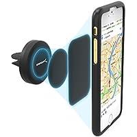 Sabrent Auto-Halterungen - Magnetische Universal-KFZ Smartphone Halterung für Lüftungsgitter (Air Vent) geeignet für ihre Handy: iPhone, Samsung, LG, Nexus, HTC, Motorola, Sony, oder GPS-Geräte, sowie andere Smartphones Geräte (CM-MGHB)
