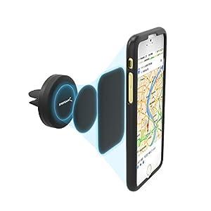 Sabrent Lüftungsgitter (Air Vent) Magnetische Universal-Kfz-Halterung für: iPhone, Samsung, LG, Nexus, HTC, Motorola, Sony, oder GPS-Gerät so wie die meisten Smartphones Geräte (CM-MGHB)
