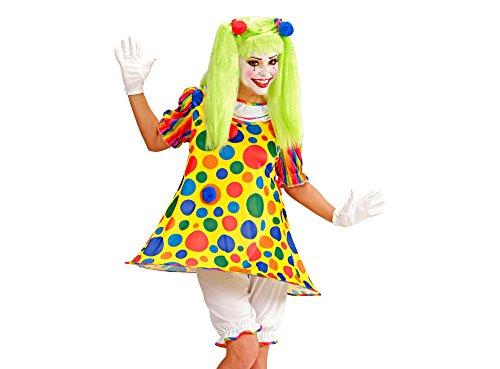Kostüm Dress Komiker Fancy - Widmann - Erwachsenenkostüm Clown Girl