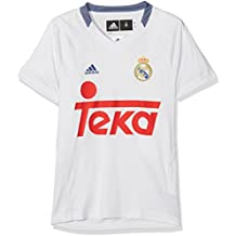 Adidas RM TRG tee Camiseta Línea Real Madrid CF, Hombre, Blanco (Balcri)