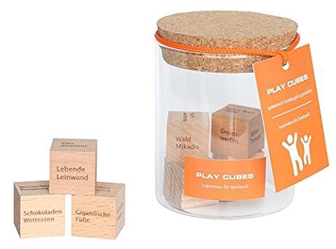 Play Cubes – Dieses Geschenk bietet 45.000 Ideen-Kombinationen. Inspiration für unglaublichen Spielspaß – für die ganze Familie. Wie kann das sein? / Geschenke / ausgefallene Geschenkidee