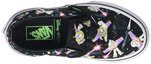 Vans Unisex-Kinder Slip-On Low-Top Mehrfarbig (Toy Story- Buzz Lightyear/True White)