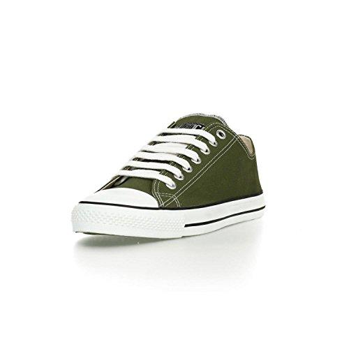 Ethletic Sneaker LoCut – camping green / white – nachhaltig, fair & vegan - 2