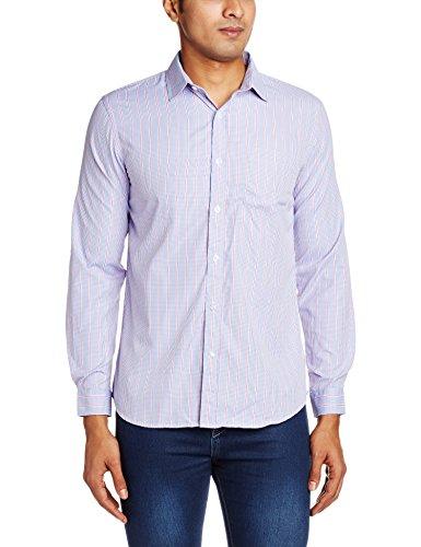 Auburn Hill Men's Shirt (8907242461762_265047592_40_Blue)
