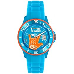 Ice-Watch F*** Me I'm Famous Blue Boo Silicon Strap Big Big 52mm FM.SS.BEB.BB.S