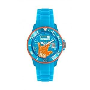 ice watch unisex armbanduhr big xl f me i 39 m famous blau. Black Bedroom Furniture Sets. Home Design Ideas