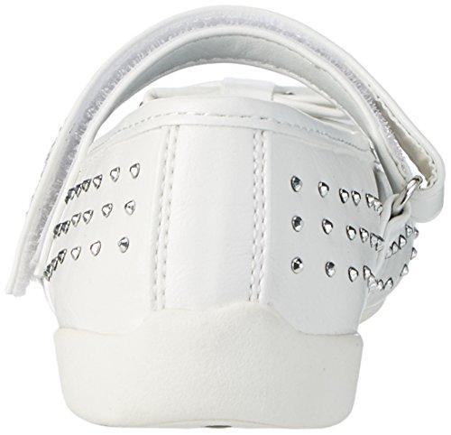 Supremo Mädchen 2762406 Geschlossene Ballerinas Weiß (white)