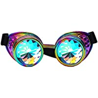 Kaleidoscopio gafas de sol prisma arcoíris gafas de sol gafas para mujeres hombres fiesta Quistal Rave