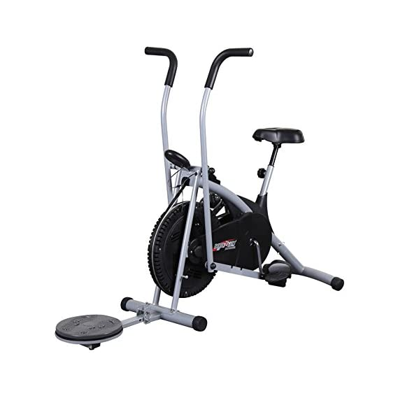 IRIS Air Bike 201 Body Gym Exercise Cycle with Twister for Home Gym use