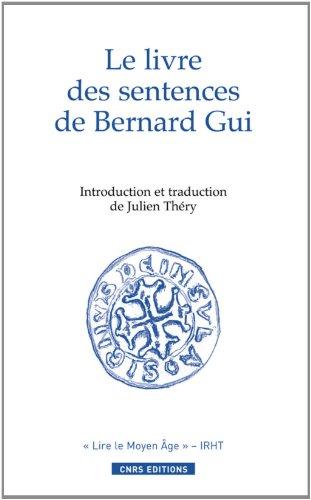Le Livre des sentences de Bernard Gui