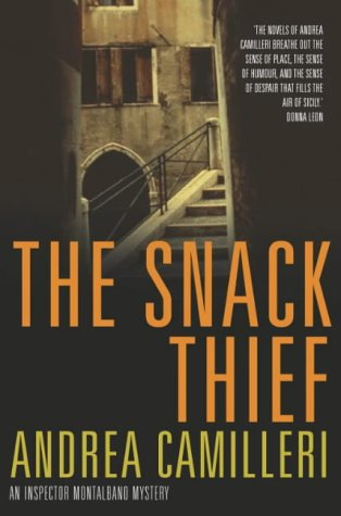 Book cover for The Snack Thief
