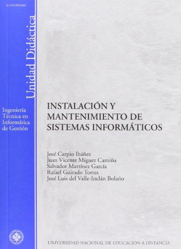 Instalación y mantenimiento de sistemas informáticos (UNIDAD DIDÁCTICA)