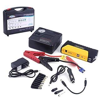 68800MAHUSB Tragbare Auto Motor Auto Starthilfe Notfall Ladegerät Booster Energienbank Batterie Mit Luftpumpe Set