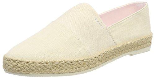 Gant Krista Cream, Schuhe, Flache Schuhe, Espadrilles, Beige, Female, 37