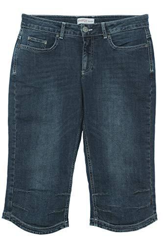 rmuda Kurze Hose Shorts Pants Damen Stretch Denim Plusgröße, Farbe:dunkelblau, Damengrößen:54 ()