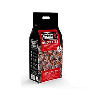 Weber 17594BBQ Briquettes 8kg Bag