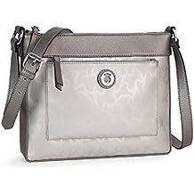 Bolso Bandolera Tous modelo Kaos Shiny en color plata mujer con bolso verano Tous de regalo