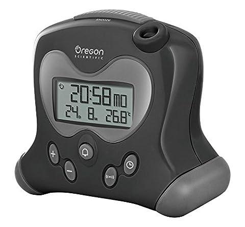 Oregon Scientific RM 313PN - Réveil avec projection de l'heure et température intérieure (Oregon Scientific Termometro)