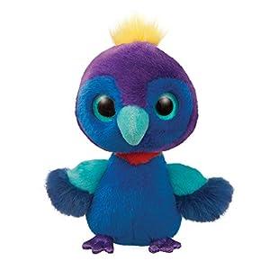 Aurora World 61286 Bellus The Congo - Peluche de búho, Color Morado y Azul