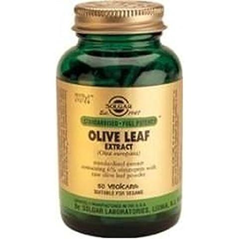 Hoja de Olivo (Olive Leaf) 60 cápsulas de Solgar