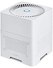 NuvoMed Desktop 3-in-1 Ionic Air Purifier with Hepa Filter and inbuilt Ionizer