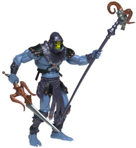 Skeletor Masters del Universo de los seguidores Skeletor con armas y piezas móviles.