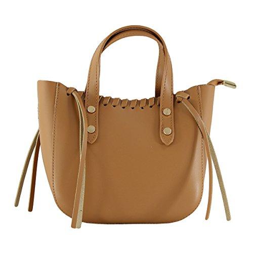 CTM sac à main pour femme, petit sac avec ceinture d'epaule dans l'interieur - 22x25x10 Cm