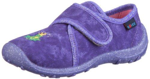 Rohde Boogy 2146 Unisex-Kinder Hausschuhe Violett/Violett