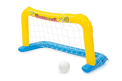 INTEX Fußballtor mit Ball aufblasbar Wasserballtor 140x89x81cm Spielzeug NEU