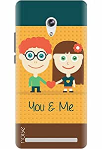 Noise Designer Printed Case / Cover for Asus Zenfone 6 / Comics & Cartoons / You And Me Design
