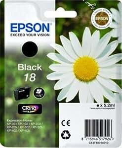 Epson C13T18014020 Cartouche d'encre Noir