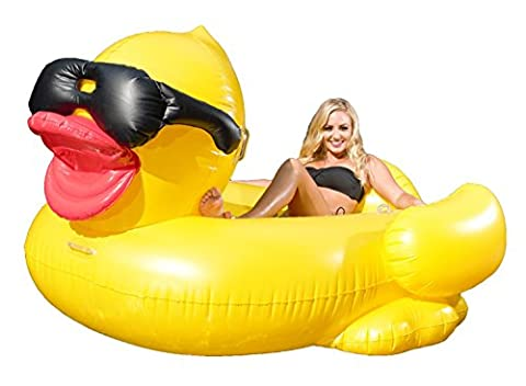 Giant Inflatable Duck Toy, Pool Float Toys for Beach, Pools and Lounge Party for Adults and Kids