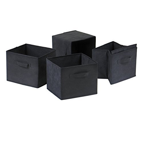 capri-foldable-fabric-baskets-set-of-4-black-by-winsome-wood