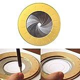Flexible Circle Drawing Tool, Herramienta Dibujo Círculo Flexible, Herramienta De Círculo Redondo Medida Ajustable Regla Dibujo Creativo Acero Inoxidable Para Entusiastas De La Carpintería De Diseño