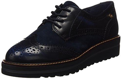 XTI 047336, Scarpe Oxford Donna Blu (Navy)