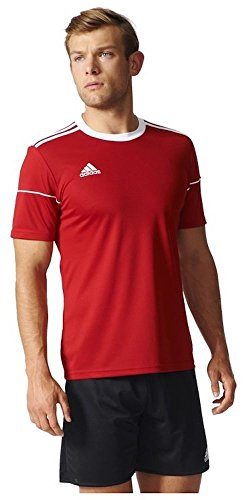 Adidas Squad 17 JSY SS Camisetapara Hombre, Rojo Power Red/White, L