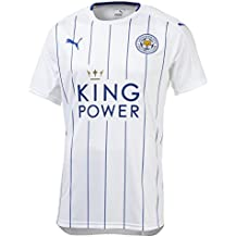 Puma Leicester City Camiseta 3rd 2016/2017 Hombre, color blanco / azul, tamaño
