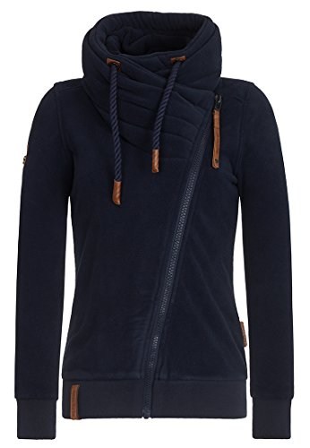 Naketano Female Hoody Jüberagend II Dark Blue, L (Hoody 2)