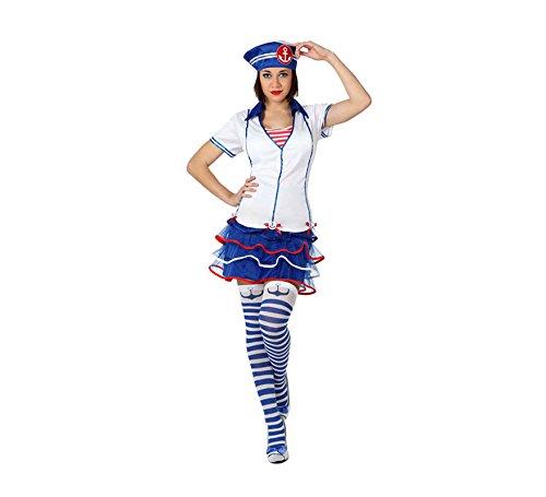 Imagen de atosa  disfraz de marinero para mujer, talla xl 15788