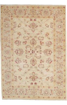 Solo Rugs Oushak Antalya Teppich, handgeknüpft, Leinen, 122 x 152 cm (X 15 12 Persisch Teppich)