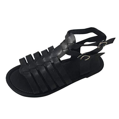 Darringls Sandalias para Mujer,Zapatillas Moda escarpín Sandalias Correa Peep-Toe Mujer Brillantes Encaje Mujer Tacón Bajo Sandalias De Tiras Fiesta Graduación Boda