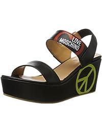 Love Moschino, Sandalias con Plataforma para Mujer