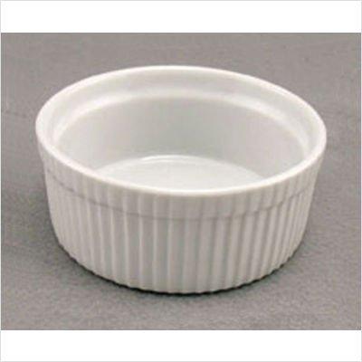 BIA Cordon Bleu Blanc Plat 283,5 gram Souffle en porcelaine, Porcelaine, blanc, 35 cl