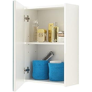 FMD Elda Bathroom Wall Cabinet 40 X 615 205 Cm White