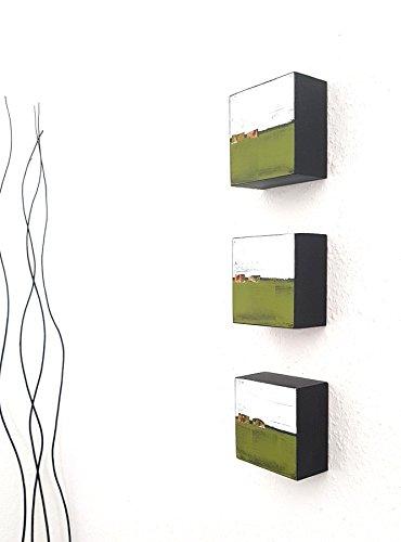 Acrylmalerei, abstrakt, auf Holz, Kunst, Design, Malerei, Acrylbilder, Wandskulptur, Gemälde, Unikat, abstrakt, handgemalt, Home Decor (Home Decor Gemälde)