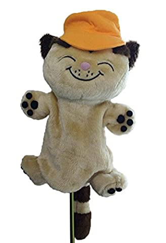 Wiltys Cat Novelty Golf Club Head cover for Driver, 1 wood 460cc oversize head