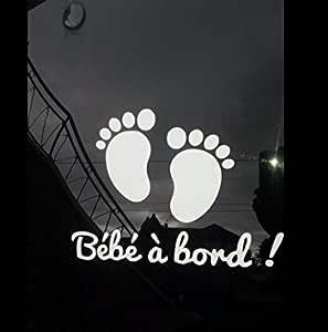 bbab117 Sticker autocollant Bébé à Bord Peugeot   Ref