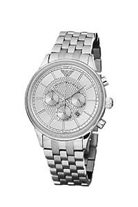 Emporio Armani Herren-Armbanduhr XL Classic Chronograph Analog Edelstahl AR0580